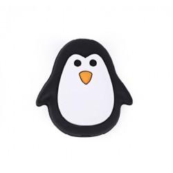 Silikonové korálky tučňák
