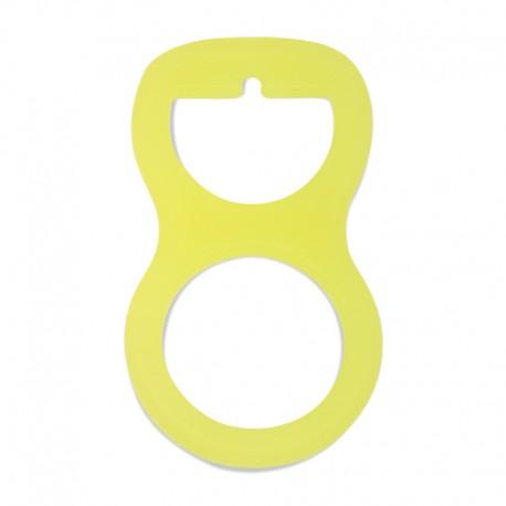 Silikonový adaptér na dudlík žlutý