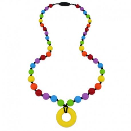 Silikonové korále barevné s donutem