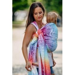LennyLamb Symphony Rainbow Light - žakárový šátek