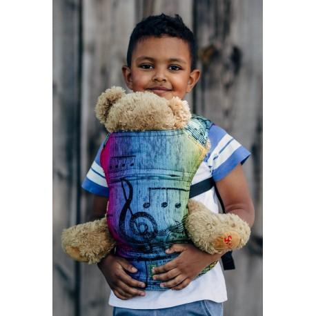 LennyLamb dětské nosítko na panenky Symphony Rainbow Dark
