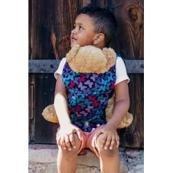 LennyLamb dětské nosítko na panenky Butterfly Wings at Night