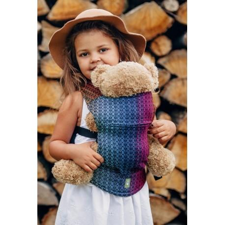 LennyLamb dětské nosítko na panenky Little Love Rainbow Dark