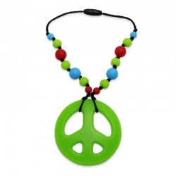 Silikonový přívěsek hippies s korálky