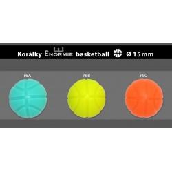 Silikonové korálky basketbalové míče